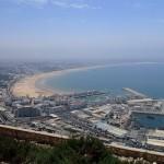 View of Agadir Bay and Marina