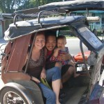 Family travel in the Philippines