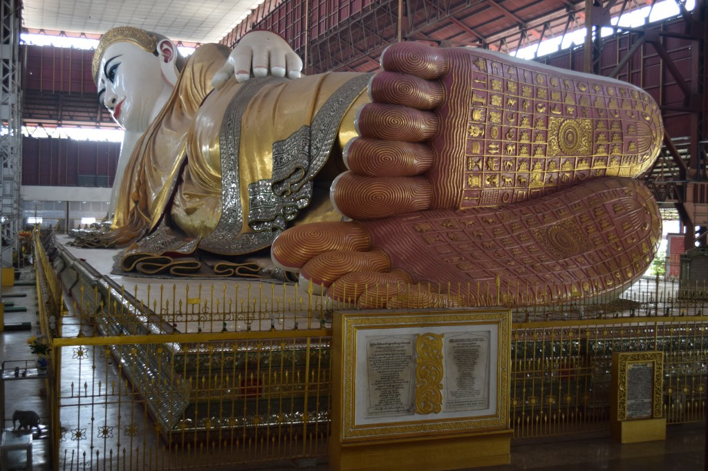 Feet of the reclining Buddha