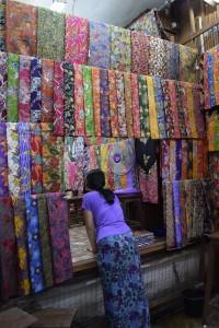 textile stall