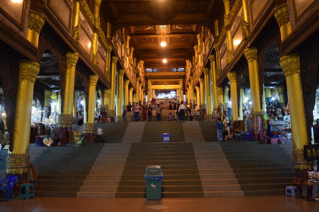 Steps leading to the pagdoda