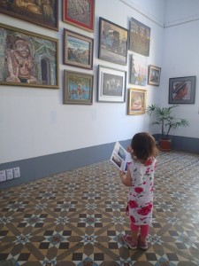 Taliya matching the art with the catalogue