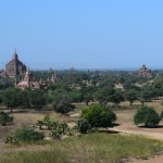 Temples and stupas as far as the eye can see