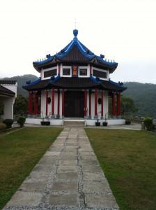 Pretty Chinese style church