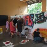 group graffiti