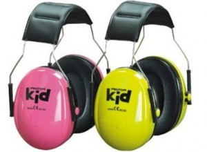 Hearing Protection for kids. These are available on Amazon.