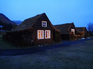 Turf Houses at Skogar Open Air Museum