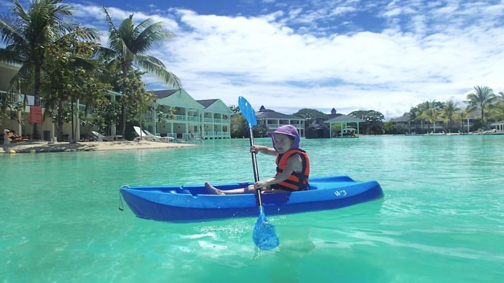 Kayaking solo!